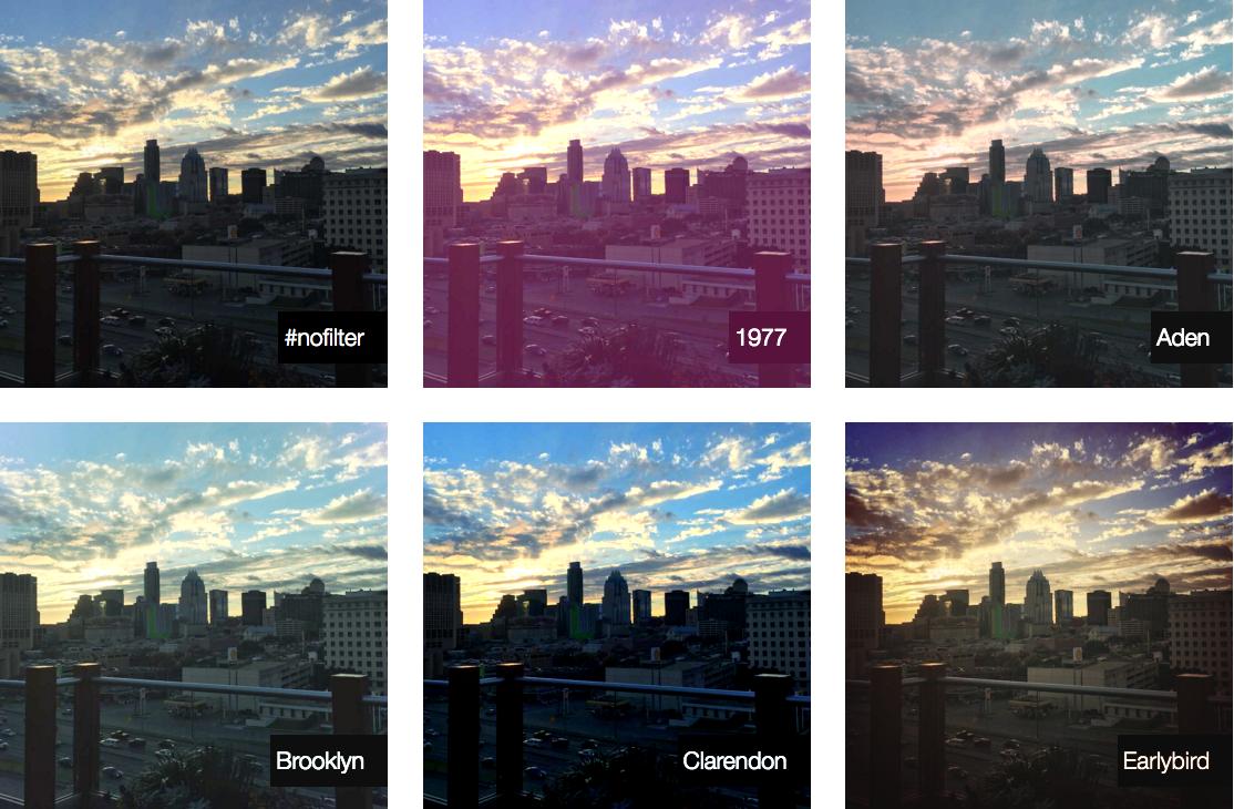 インスタ風の画像効果をCSSで表現する